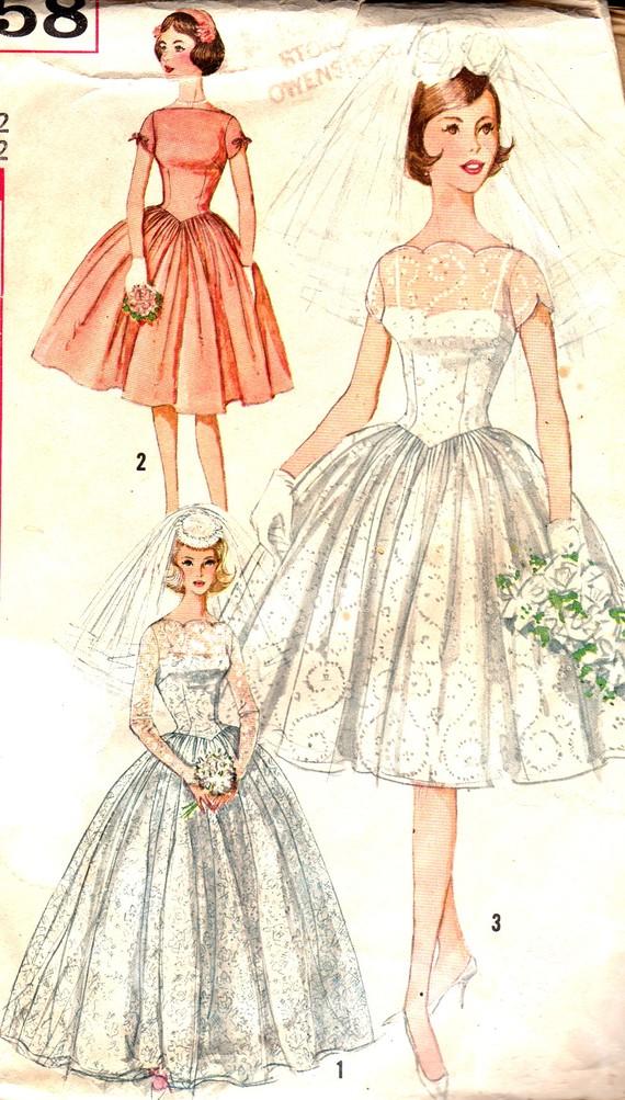 wedding dress patterns 50s style � dress blog edin