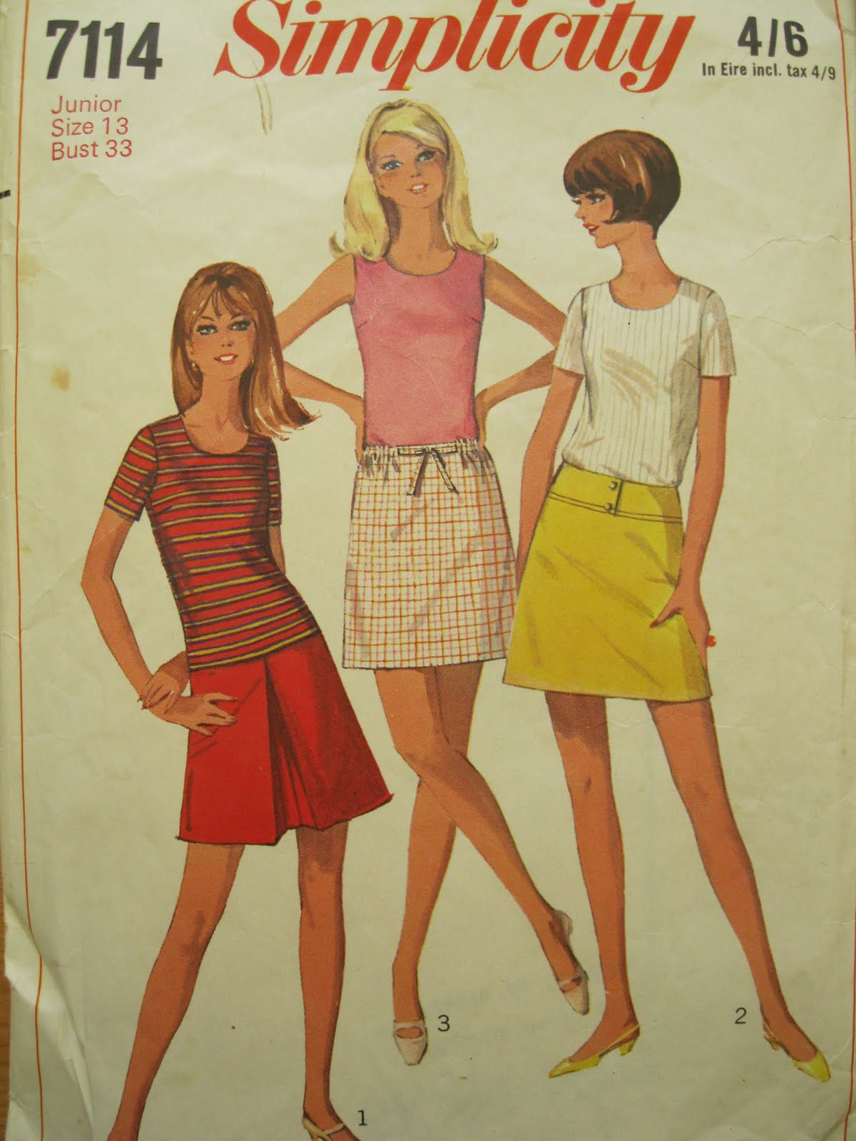 Mini skirt from the 60s – Fashionable skirts 2017 photo blog
