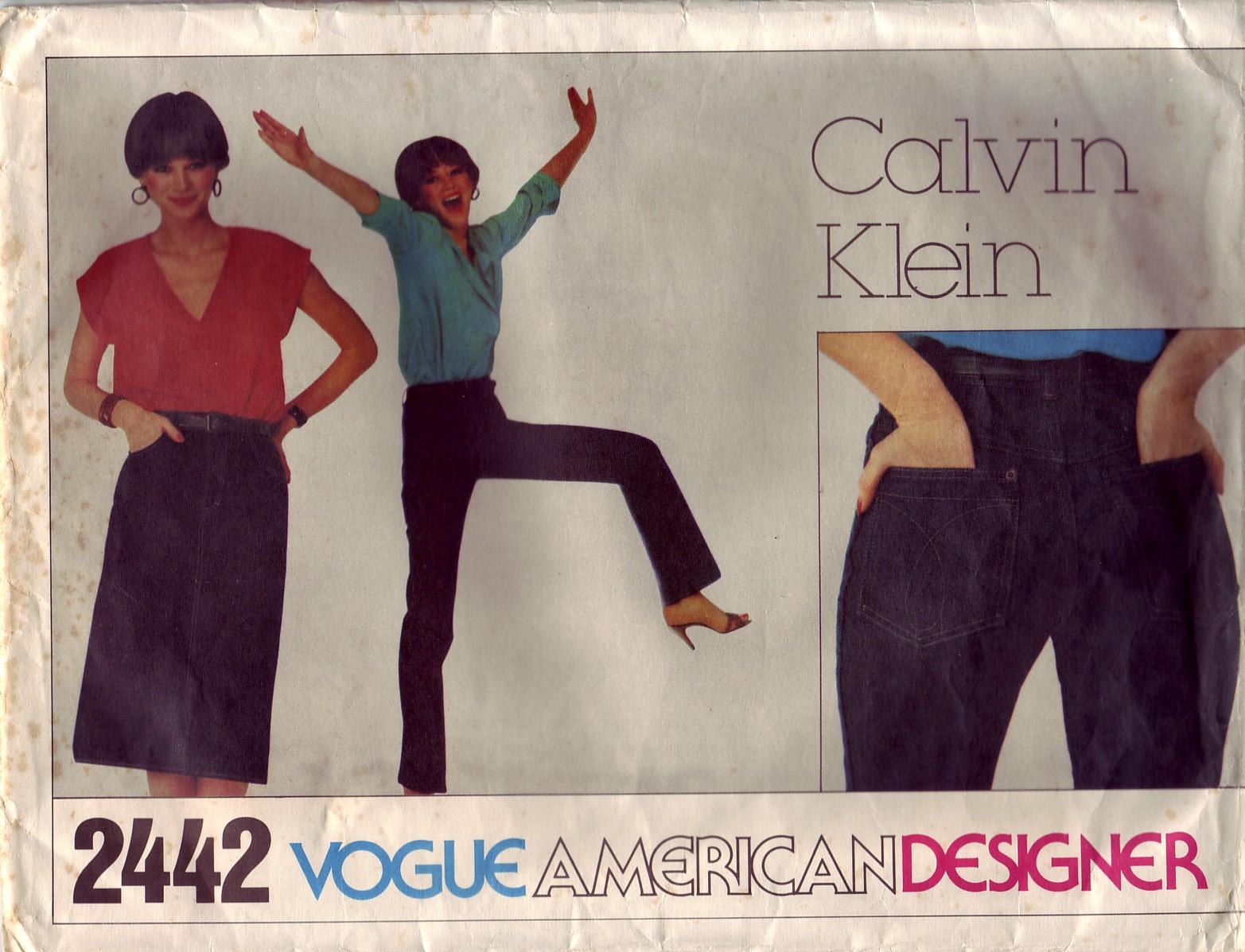 Calvin Klein – Vogue 2442 – A Sunny Skirt